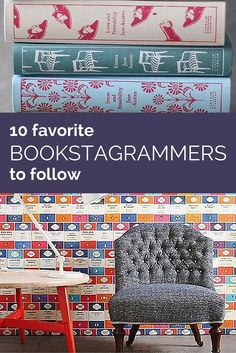 10 Favorite Bookstagrammers To Follow | Instagram isn't just for lattes and flowers. Check out this list of 10 great bookish Instagram accounts to follow.
