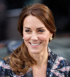 Princesses - they're just like us! Kate Middleton, 34, stepped out last Friday with her hair in a twisted ponytail - a style typically created with the inexpensive tool, the Topsy Tail