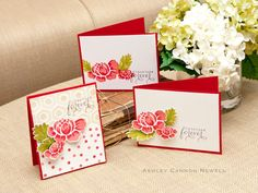 Stamper's First Aid - Together Forever Cards by Ashley Cannon Newell for Papertrey Ink (July 2012)