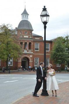 Annapolis Maryland Courthouse Wedding