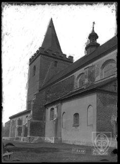 Kościół Narodzenia Najświętszej Maryi Panny, Pyzdry - 1913 rok, stare zdjęcia