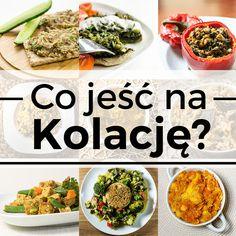 Kolacja to posiłek, którym (jak mawiają mądrzy) powinniśmy podzielić się z wrogiem, choć ja zawsze zachęcam do przygotowywania pysznych, zdrowych kolacji i dzielenia się nimi z przyjaciółmi. Dlatego, że posiłek jedzony w miłym towarzystwie to doskonałe zwieńczenie dnia i w sumie (dla wielu) jedyny posiłek, który może być zjedzony w spokoju. Tym bardziej wykorzystajmy ten… Healthy Dishes, Healthy Eating, Healthy Recipes, Going Vegetarian, Food Inspiration, Good Food, Food Porn, Food And Drink, Cooking Recipes
