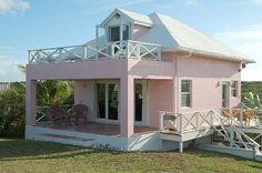 "Little Pink ""Bahama"" Houses"