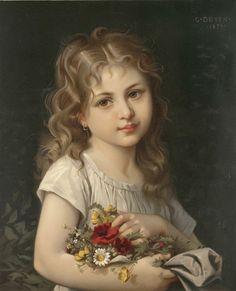 Portrait by G. Doyen, 1879