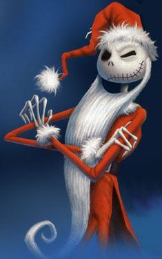 The Nightmare Before Christmas Santa Claus | SWOSU Libraries Blog