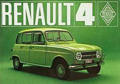 Renault 4 - 1968 Nissan Infiniti, Car Advertising, Retro Cars, Old Cars, Vintage Ads, Motor Car, Concept Cars, Cars And Motorcycles, Classic Cars