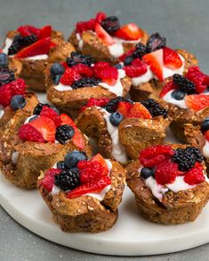 Berry French Toast Cups | These Berry French Toast Cups Are The Prettiest Breakfast Bites Ever