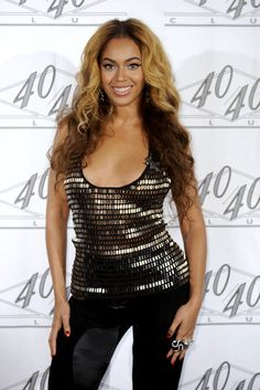 Beyonce Knowles hair and makeup
