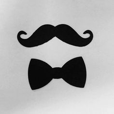 200 Pack Mustache and Bowtie die cut shapes by StacheMeIfYouCan, $7.50