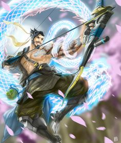 Hanzo Shimada - The Power of The Dragon in a Japanese Man.