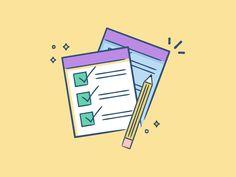 Comportamiento de oficina: Ir tachando cosas de una lista