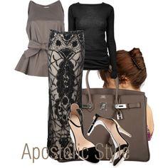 """Apostolic Style"" by emmyholloway on Polyvore"
