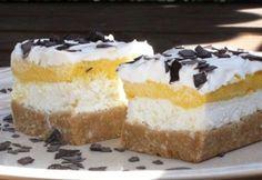 Habos emeletes szelet sütés nélkül Vanilla Cake, Tiramisu, Breakfast Recipes, Cheesecake, Food And Drink, Pudding, Sweets, Snacks, Cookies