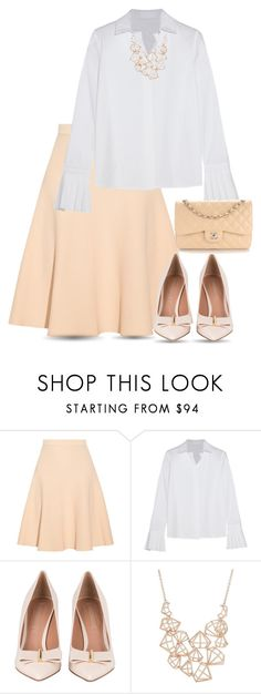 """..............."" by svetlanachanturiya ❤ liked on Polyvore featuring Jonathan Simkhai, CO, Ted Baker and Chanel"