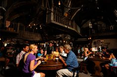 The Three Broomsticks, theming at the highest level at the Wizarding World of Harry Potter. Try that Butterbeer..! (Universal Studios Islands of Adventure, Orlando)