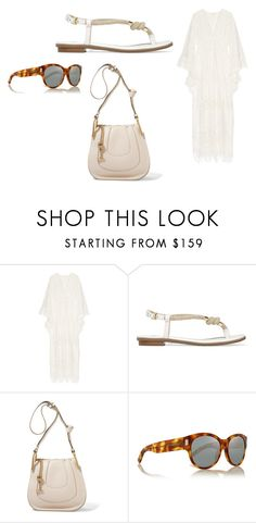"""""""Sin título #5172"""" by ceciliaamuedo ❤ liked on Polyvore featuring Anna Sui, MICHAEL Michael Kors, Chloé and Yves Saint Laurent"""