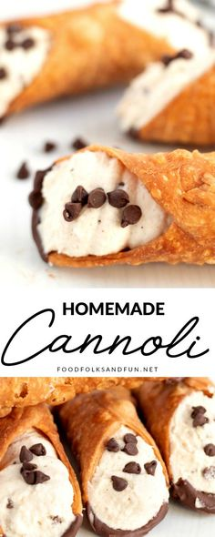 Making fresh, homemade cannoli cream is easier than you think. You'll be filling cannoli shells in no time with my How to Make Cannoli Cream tutorial! This popular recipe has been shared over 124,000 times! Baking Recipes, Cookie Recipes, Dessert Recipes, Cheesecake Recipes, Dessert Ideas, Homemade Cannoli Recipe, Homemade Cannolis, Italian Cannoli Cream Recipe, Cannoli Filling Recipe Cream Cheese