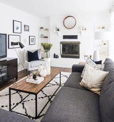 46 Cozy Apartment Living Room Decor Ideas