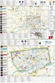 Padova Tourist Map - Padova Italy • mappery | Venice | Pinterest ...