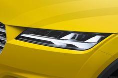 Audi TT Offroad Concept Automotive Design, Auto Design, Lamp Design, Lighting Design, Porsche, Spaceship Design, Bmw, Car Headlights, Futuristic Cars