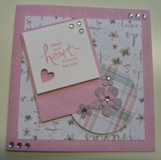 Patterned Paper & all things pretty: Follow Your Heart