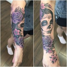 Day of the Dead Tattoo 90