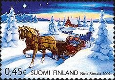 realistic horse-drawn sleigh digital stamps - Google Search