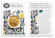 As part of their ongoing collaboration with Doves Farm Organic, Studio h has designed a range of new Gluten Free cereals.