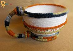 Handmade decorative rustic basket