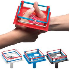 Unique Gifts and Pro Thumb Wrestling Arena at Perpetual Kid. Our Pro Thumb Wrestling Arena is a full-size, officially sanctioned professional thumb wrestling ri Activity Games, Fun Games, Perfect Gift For Him, Gifts For Him, Toys For Girls, Kids Toys, Thumb Wars, Wrestling Party, Birthday Box