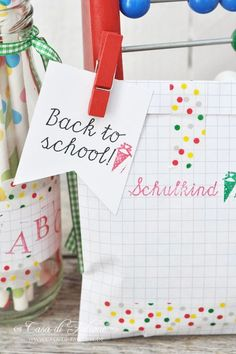 Partyideen für den Schulanfang + DIY | back to school party | Casa di Falcone
