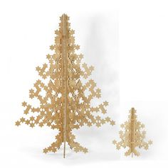 Modernica's Plywood Flat Pack Christmukkah TreesLos Angeles Times