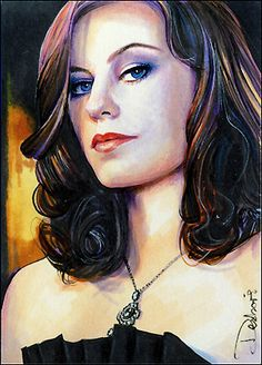 SMALLVILLE - Cassidy Freeman as Tess Mercer; She's a Luthor, but She's Actually One of The Good Guys!!