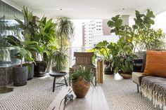 10 apartamentos com muito verde para se inspirar (Foto: Divulgação)