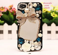 NEW 3D Bling Diamond Rhinestone DIY Cell Phone Case Deco Den Kit--cl8