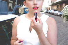 Wedding day secret weapon: find out which lipstick I used on my wedding day at Beyond The Stoop. photo c/o Cheyenne mojica Jersey City, Social Events, Weapon, Lifestyle Blog, Wedding Day, Lipstick, Posts, Women, Pi Day Wedding