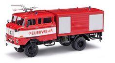 Busch 95124 ESPEWE IFA W50 GMK (Ganzmetallkoffer) mit Bauchbinde