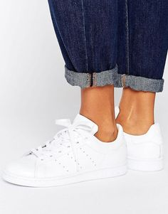 purchase cheap 9d87f f4385 Adida Originals All White Stan Smith Sneakers Stan Smith Weiß, Adidas Stan  Smith White,