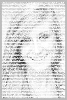 Cool Pictures Made Of Text