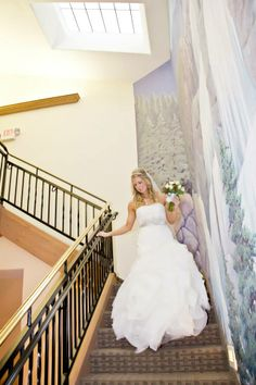 Want to make a grand entrance?  We have it covered!!   Photo By Mike Ridinger Photography