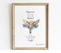 Harry Potter Quotes Poster – Magic Paperie Harry Potter Wall Art, Harry Potter Poster, Harry Potter Quotes, Dumbledore Quotes, Harry Potter Printables, Owl Wall Art, Light Quotes, Wall Decor Quotes, Photo Printing Services