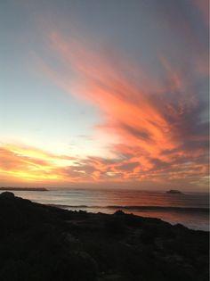 Sunset Yzerfontein