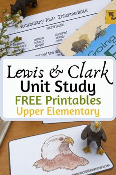 Free Lewis & Clark US History Unit Study with printables, STEAM, literature, writing and more! Lessons for your whole family preschool to high school. Steam Activities, Hands On Activities, History Education, History Class, Teaching History, Us History, European History, Ancient History, Lewis And Clark