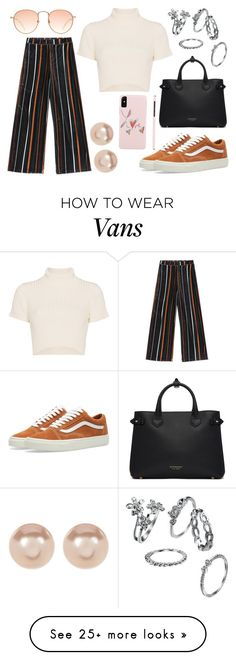 """""""Hope"""" by tablina on Polyvore featuring Vans, Burberry, Nordstrom Rack and Staud"""