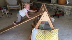 Midwest Montessori — The Pikler triangle