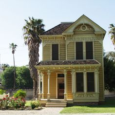 The Ford House was built in 1887 as part of a large tract of simple middle-class homes in downtown Los Angeles built by the Beaudry Brothers. It would be unremarkable today if not for its original owner, John J. Ford, a very prolific and well-known wood carver. Ford's works include carvings for the California State Capital, the Iolani Palace in Hawaii, and Leland Stanford's private railroad car.