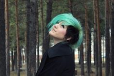 female mow hawk | Hair-Raising Colors: A Rainbow Of Mohawk Styles photo yasi's photos ...