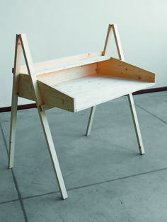 writing desk - luigi fumagalli - diy furniture  i will make a larger scale version of this and it will be my favorite.