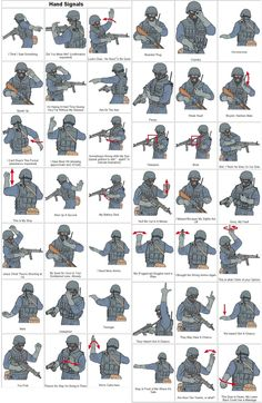 """Tactical Signals like """"be quiet for once in your goddamn life"""""""