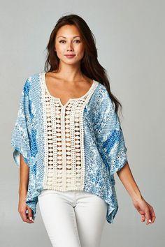 Bahamas Crochet Top: